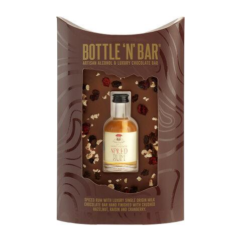 Prestige Hampers Bar n Bottle Spiced Rum Hamper - Gift Basket - Prestige Hampers