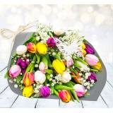 123 Flowers Tulip Delight  - Tulips Bouquet - Flower Delivery - Next Day Flowers - Send Flowers - Flowers by Post