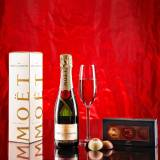 Haute Florist Moet and Chandon Gift - Luxury Champagne Gifts - Champagne Gifts - Send Champagne Gifts - Champagne Delivery