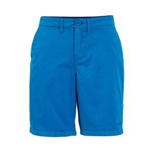 Weird Fish Naila Plain Chino Shorts Blue Wash Size 18