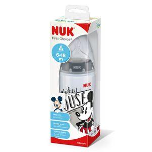 NUK Mickey First Choice + Bottle