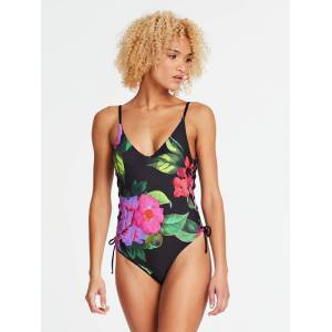 Guess Flower Print One Piece Swimsuit  - Multiple colors