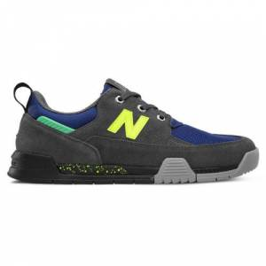 New Balance UK New Balance All Coasts 562 Shoes - Magnet/Blue (Size UK 9)