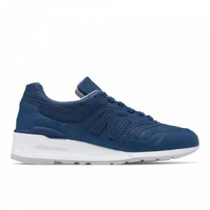 New Balance UK New Balance Made in US 997 Bison Shoes - Blue/Grey (Size UK 11)