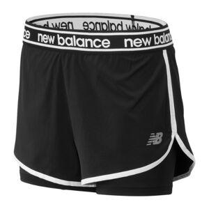 New Balance UK New Balance Relentless 2 In 1 Short - Black (Size XL)