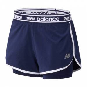 New Balance UK New Balance Relentless 2 In 1 Short - Pigment (Size XL)