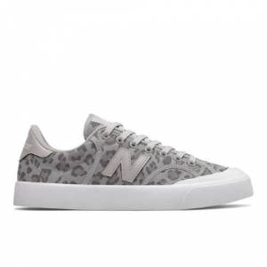 New Balance UK New Balance Unisex Pro Court Shoes - Silver/Grey (Size UK 7.5)