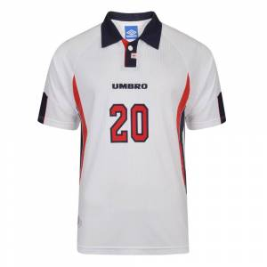 Score Draw Umbro 1998 France Number 20 Football Shirt