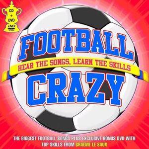 Various-Football & Sport Football Crazy 2006 UK 2-disc CD/DVD set GTVCD02