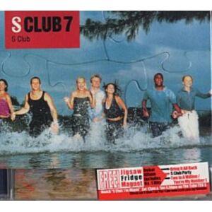 S Club 7 S Club + Jigsaw 1999 Singapore CD album 543237-2