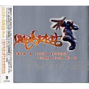 Limp Bizkit Take A Look Around - Silver 2000 Japanese CD single MVCT-12026