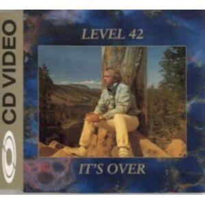 Level 42 It's Over - C.D. Video 1989 UK CD single 080156-2