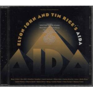 Elton John Aida + Interview CD 1999 Singapore 2-CD album set 524628-2/STARS2