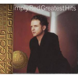 Simply Red Greatest Hits - 24K Gold Mastersonic 1996 Singapore CD album 0630-16552-2