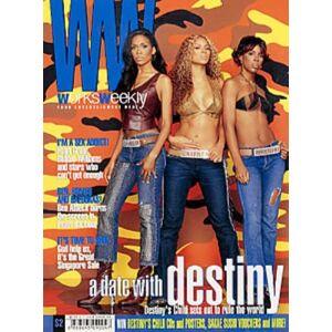 Destiny's Child Works Weekly 2001 Singapore magazine JUNE 1-7