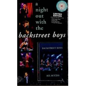 Backstreet Boys A Night Out With The Backstreet Boys 1998 Singapore cd album box set 0521822