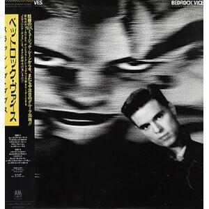 Thrashing Doves Bedrock Vice 1987 Japanese vinyl LP C28Y3175