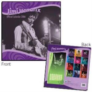 Jimi Hendrix Official Calendar 2006 2006 UK calendar C10119