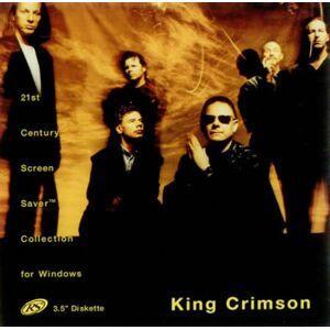 King Crimson 21st Century Screen Saver For Windows 1995 USA CD-ROM RS1080