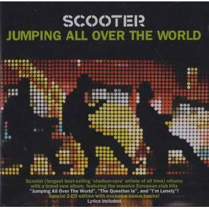 Scooter Jumping All Over The World 2008 Singapore 2-CD album set EA71558