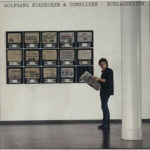 Wolfgang Niedecken Schlagzeiten 1987 German vinyl LP 1C0661472551
