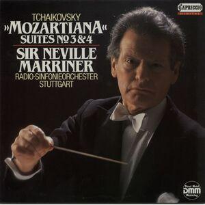 Pyotr Ilyich Tchaikovsky Mozartiana Suites No. 3 & 4 1988 German vinyl LP C27191