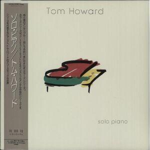 Tom Howard Solo Piano 1987 Japanese vinyl LP C28Y3841
