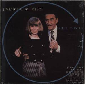 Jackie And Roy Full Circle 1988 USA vinyl LP C-14046