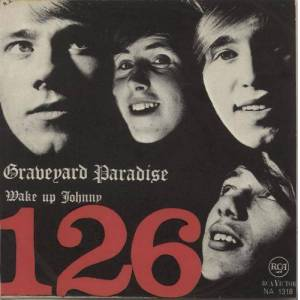 "126 Graveyard Paradise 1967 Norwegian 7"" vinyl NA1318"