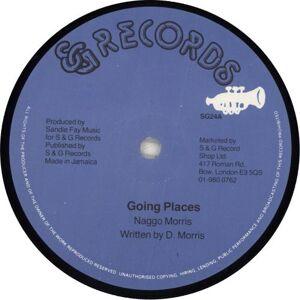 "Naggo Morris Going Places 1982 UK 12"" vinyl SG24"