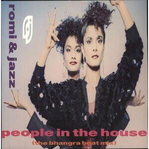 "Romi & Jazz People In The House 1988 UK 12"" vinyl CHS123304"
