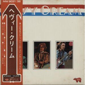 Cream Heavy Cream 1973 Japanese 2-LP vinyl set MW9031/32