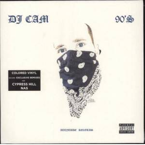 DJ Cam 90's (Make Your Life A Dream) - Blue Vinyl + Numbered - Sealed 2019 French vinyl LP UVN19002