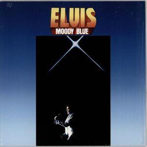 Elvis Presley Moody Blue - Blue Vinyl 2017 UK vinyl LP 88985446191
