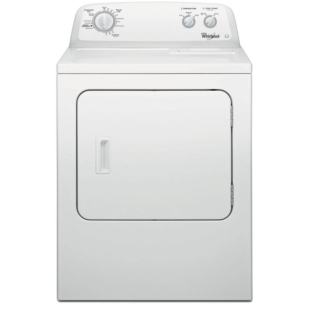 Whirlpool 3LWED4705FW 15kg American Vented Tumble Dryer - WHITE