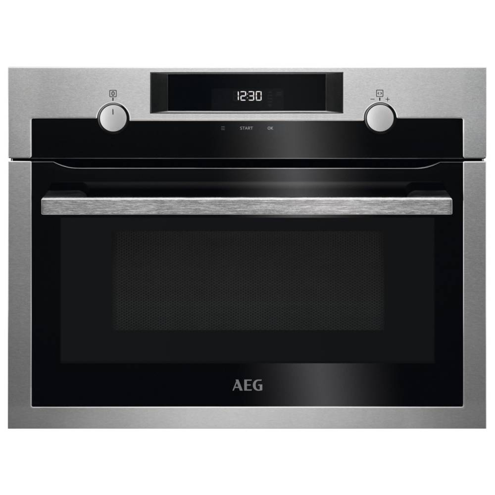 AEG KME525800M Built In Microwave & Grill For Tall Housing - STAINLESS STEEL