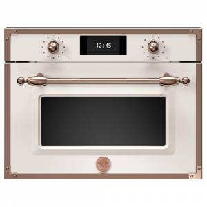 Bertazzoni F457HERMWTAC Heritage Series Built In Combination Microwave - IVORY