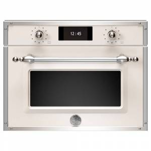 Bertazzoni F457HERMWTAX Heritage Series Built In Combination Microwave - IVORY