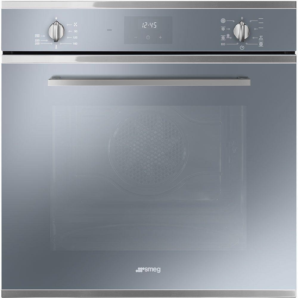 Smeg SF6400TVS Cucina Multifunction Single Oven - SILVER