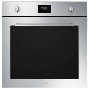 Smeg SFP6401TVX1 Cucina Pyrolytic Multifunction Single Oven - STAINLESS STEEL