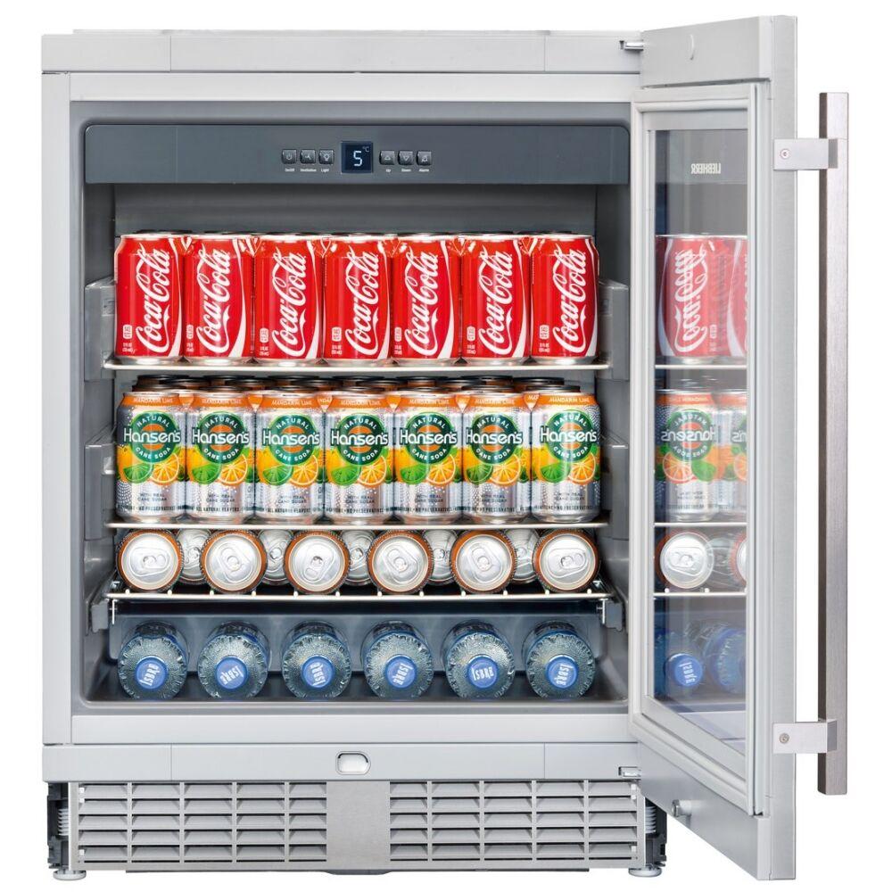 Liebherr UKES1752 60cm Integrated Built Under Drinks Fridge - STAINLESS STEEL