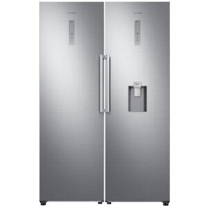 Samsung RR39M73407F RZ32M71207F Larder Fridge And Frost Free Freezer Pack - STAINLESS STEEL
