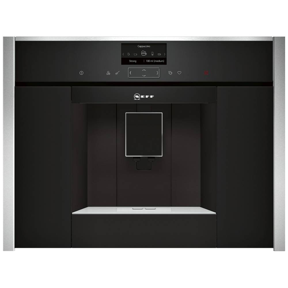 Neff C17KS61H0 N90 Fully Automatic Built In Coffee Centre - STAINLESS STEEL
