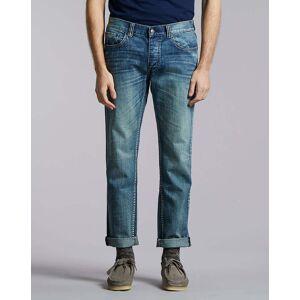 Bellfield Clothing Bellfield Phoenix Solis Slim Denim Jean   Light Indigo Wash, 32