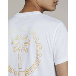 Bellfield Clothing Bellfield Ladeem Mens T-Shirt   White, Large