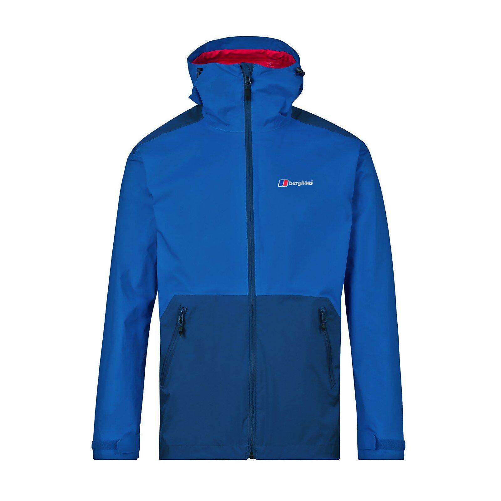 Berghaus Men's Deluge Pro Waterproof Jacket - Blue - XL  - Blue - Size: Extra Large