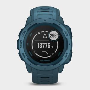 Garmin Instinct GPS Watch, Blue  - Blue - Size: One Size