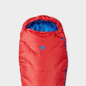 Eurohike Adventurer Youth Sleeping Bag, Red/CHY  - Red/CHY - Size: One Size