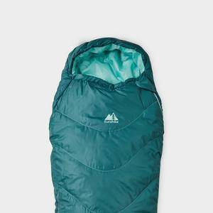 Eurohike Adventurer Youth Sleeping Bag, Blue/AQA  - Blue/AQA - Size: One Size