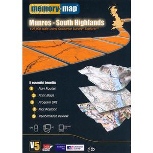 Memory Map Explorer Munros - Loch Rannoch & Loch Lomond CD ROM, Multi/ASSO  - Multi/ASSO - Size: One Size